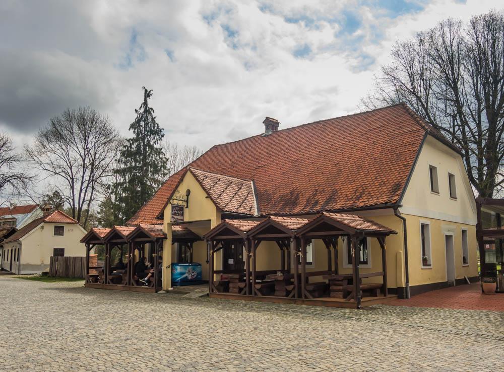 Krčma (a.k.a. pub) Kod Starog at Kumrovec (6.4.2019.)
